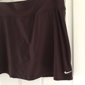 Nike Fit Dry Brown Skirt Skort Sz Small